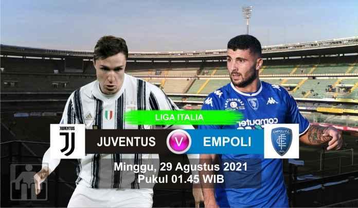 Prediksi Juventus vs Empoli, Pekan Kedua Liga Italia, Minggu 29 Agustus 2021