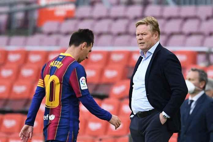 Koeman Dorong Barcelona Lupakan Lionel Messi