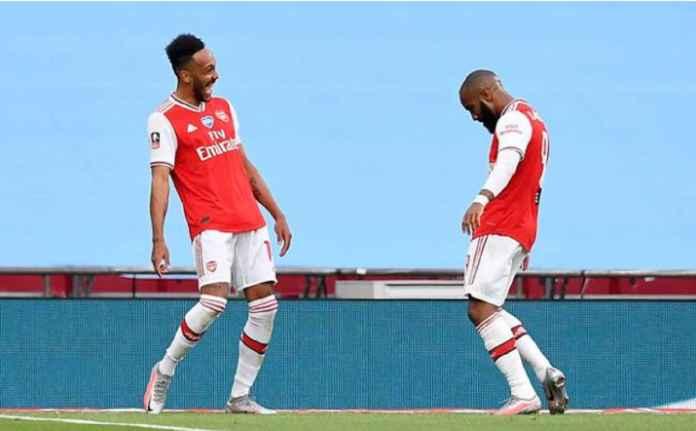 Arsenal Rela Melepas Aubameyang atau Lacazette ke Barcelona, Tapi Ini Syaratnya!