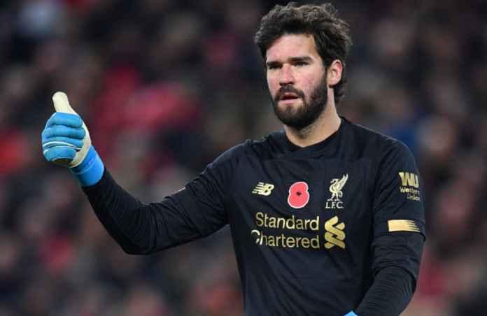 Liverpool Lega Alisson Perpanjang Kontraknya Enam Tahun Lagi