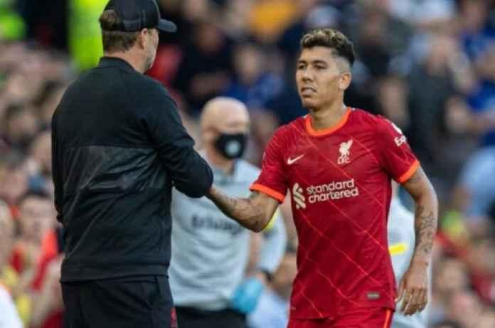 Liverpool Berharap Roberto Firmino Pulih Sebelum Laga Pembuka Liga Champions