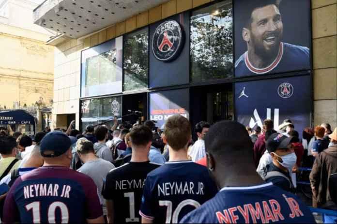 PSG Laris-Manis Jual Jersey Lionel Messi, Tandas dalam Waktu 30 Menit