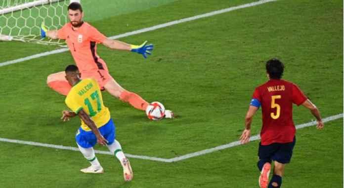 Hasil Brasil vs Spanyol, Mantan Barcelona Bawa Selecao Jadi Juara Olimpiade Tokyo