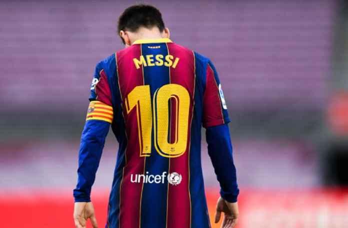 Lionel Messi Stress Setelah Barcelona Umumkan Dia akan Pergi