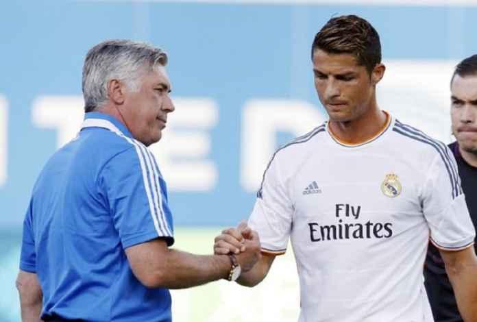 Cristiano Ronaldo Kembali ke Real Madrid? Ancelotti Tegaskan Itu Cuma Isu