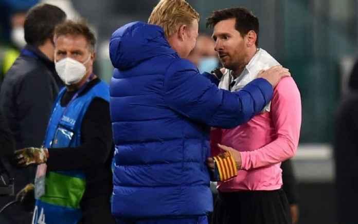 Ronald Koeman Sulit Pahami Kepergian Messi dari Barcelona