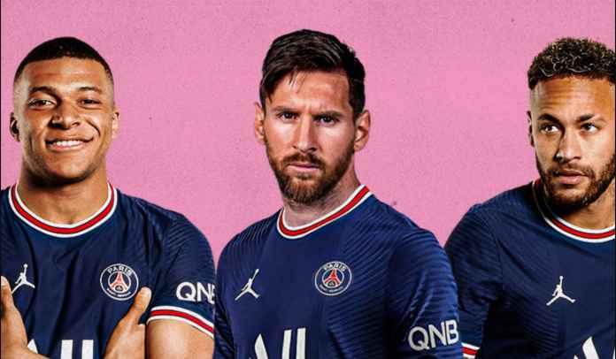 Lionel Messi Antusias Bermain Bareng Neymar & Kylian Mbappe di Paris Saint-Germain