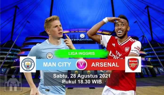 Prediksi Manchester City vs Arsenal, Pekan Ketiga Liga Inggris, Sabtu 28 Agustus 2021