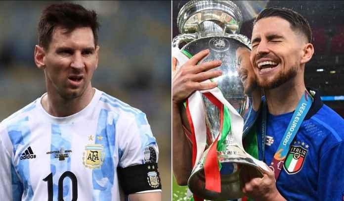 Cassano : Jorginho Setuju Itu Skandal Jika Bukan Messi Pemenang Ballon d'Or 2021