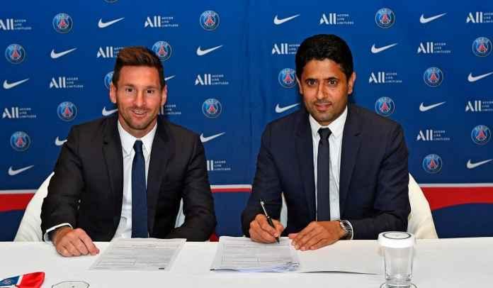 Presiden PSG Nasser Al-Khelaifi Tegaskan Transfer Lionel Messi Tak Langgar FFP