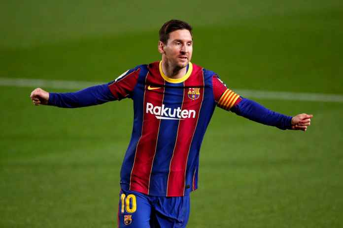 Messi Tinggalkan Camp Nou Usai 21 Tahun