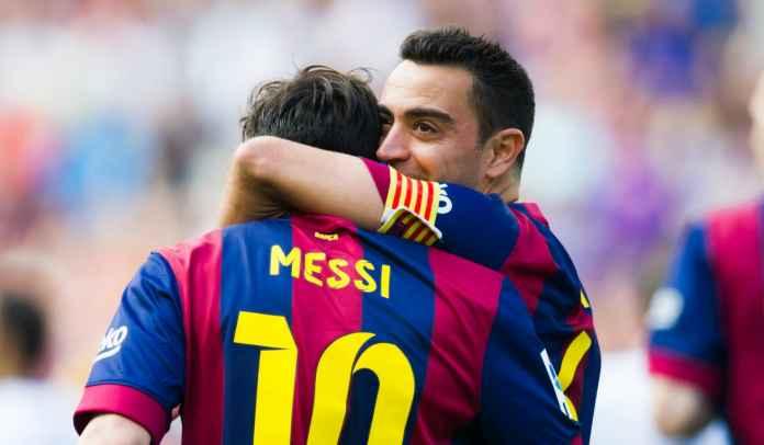 Xavi Hernandez Mengaku Sangat Menyesal Lihat Lionel Messi Tinggalkan Barcelona