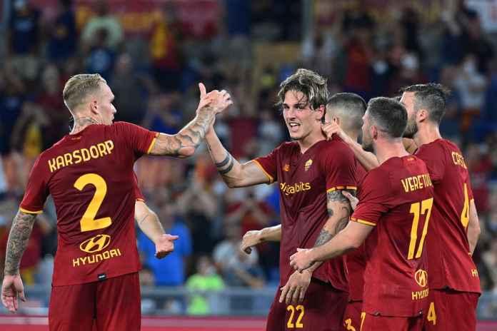Mourinho Puji 2 Pemain Roma Usai Lumat Trabzonspor