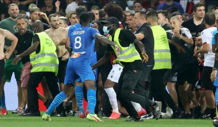 Presiden Nice Salahkan Para Pemain Marseille Atas Kerusuhan di Allianz Riviera