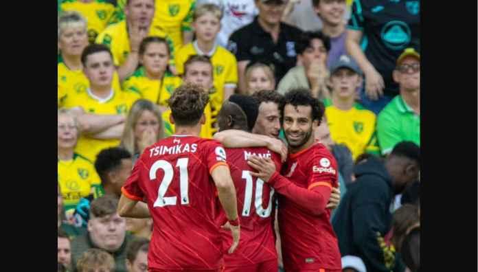 Hasil Norwich vs Liverpool: Reds Jaga Tradisi Tak Pernah Takluk Dari Canaries