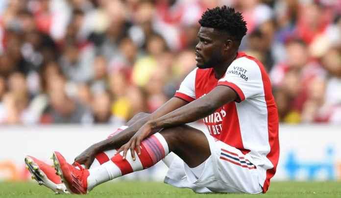Arsenal Ungkap Kapan Thomas Partey Kembali Pasca Cedera Pergelangan Kaki