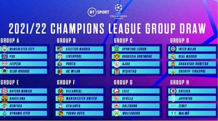 Balas Dendam PSG, Barcelona, Liverpool dan Man Utd Adalah Tema Utama Drawing Liga Champions