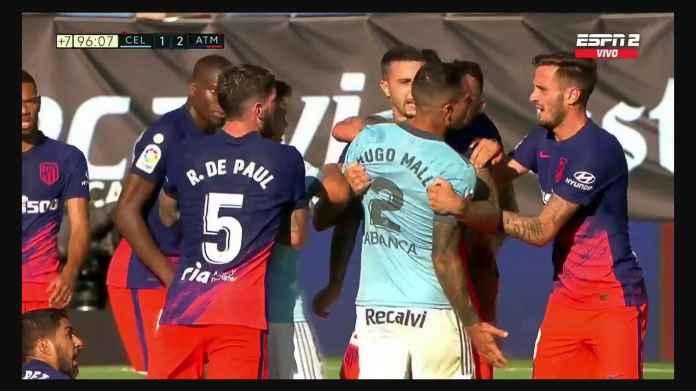 Mantan Liverpool Jegal Mantan Liverpool, Perkelahian Massal Atletico Pecah di Celta Vigo