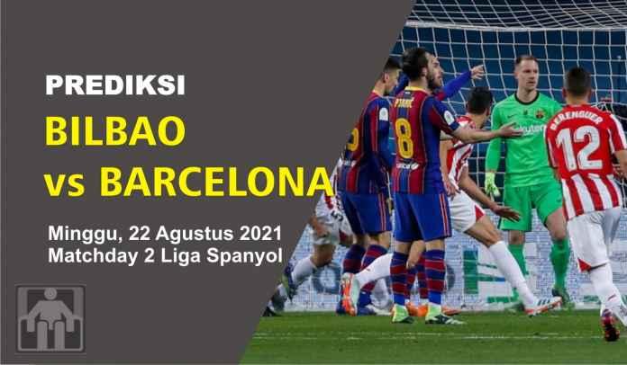 Prediksi Athletic Bilbao vs Barcelona, Pekan Kedua Liga Spanyol, Minggu 22 Agustus 2021
