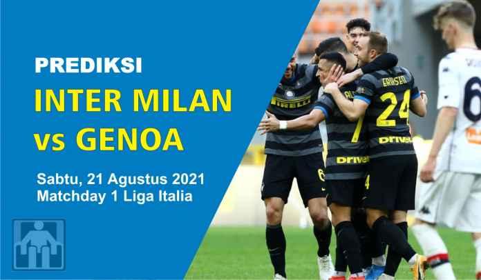 Prediksi Inter Milan vs Genoa, Pekan Pertama Liga Italia, Sabtu 21 Agustus 2021