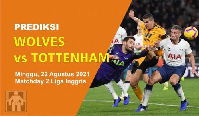 Prediksi Wolves vs Tottenham Hotspur, Pekan Kedua Liga Inggris, Minggu 22 Agustus 2021