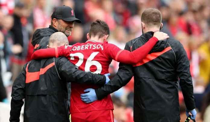 Andy Robertson Konfirmasi Bakal Absen Beberapa Pekan Pertama Liverpool