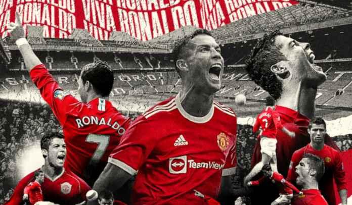 Cristiano Ronaldo Ungkap Kebahagiaannya Bisa Kembali ke Manchester United