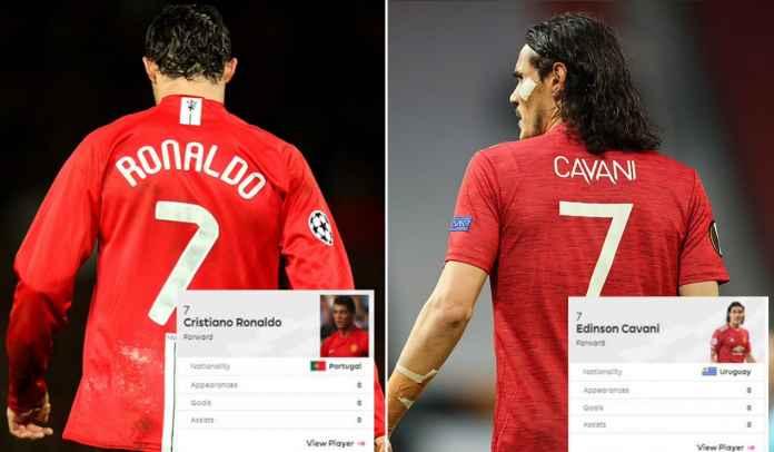 Daniel James ke Leeds, Edinson Cavani Kenakan No 21, Cristiano Ronaldo Dapat No 7