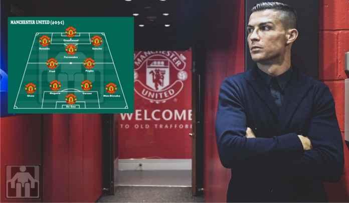 Tiga Formasi Manchester United Musim Ini Dengan Kembalinya Cristiano Ronaldo
