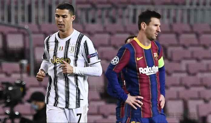 Lionel Messi ke PSG Tidak Berdampak Pada Masa Depan Cristiano Ronaldo di Juventus
