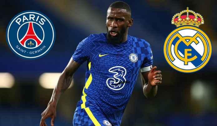 Real Madrid & Paris Saint-Germain Awasi Masa Depan Antonio Rudiger di Chelsea