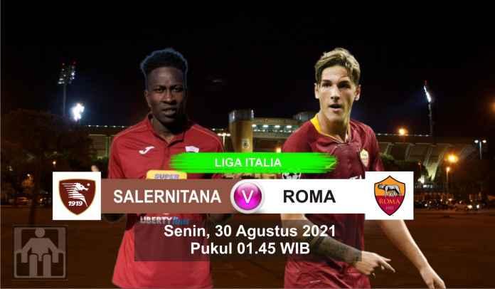 Prediksi Salernitana vs AS Roma, Pekan Kedua Liga Italia, Senin 30 Agustus 2021
