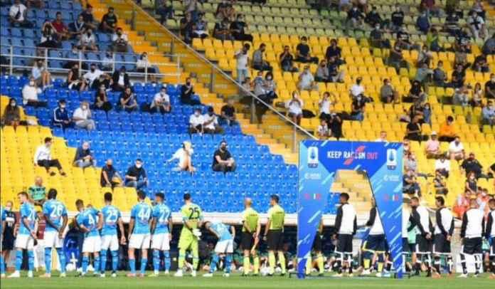 Stadion di Italia Bakal Dibuka Untuk 50 Persen Kapasitas, Jaga Jarak Model Papan Catur