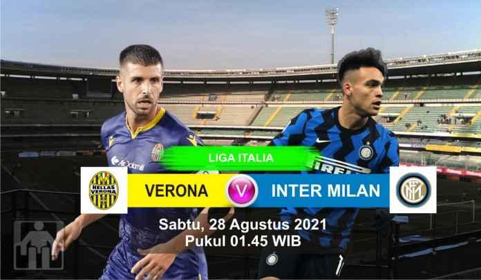 Prediksi Verona vs Inter Milan, Pekan Kedua Liga Italia, Sabtu 28 Agustus 2021
