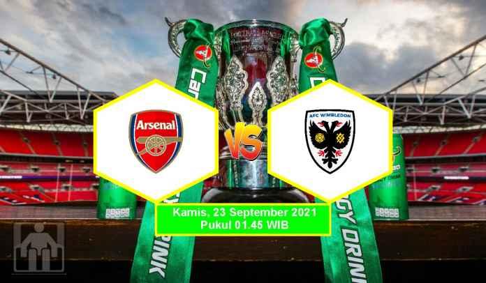 Prediksi Arsenal vs AFC Wimbledon, Putaran Ketiga Piala Liga, Kamis 23 September 2021