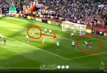 7 Lawan 4 Tetap Saja Gol, Lihat Situasi Gol Pertama Arsenal Lawan Tottenham