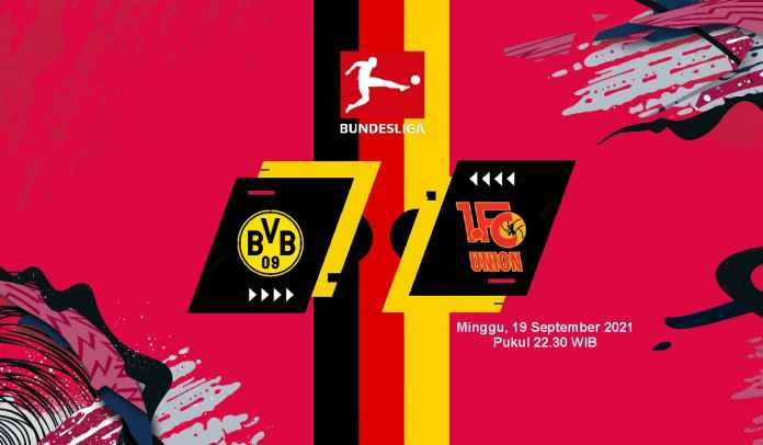 Prediksi Dortmund vs Union Berlin, Pekan Kelima Liga Jerman, Minggu 19 September 2021