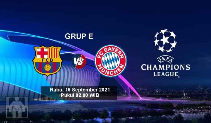 Prediksi Barcelona vs Bayern Munchen, Fase Grup Liga Champions, Rabu 15 September 2021