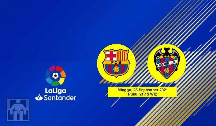 Prediksi Barcelona vs Levante, Pekan Ketujuh Liga Spanyol, Minggu 26 September 2021