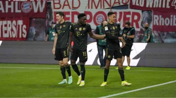 Hasil RB Leipzig vs Bayern Munchen: Sesuai Prediksi Die Roten Menang 1-4