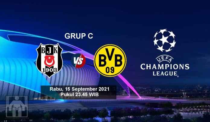 Prediksi Besiktas vs Borussia Dortmund, Fase Grup Liga Champions, Kamis 16 September 2021