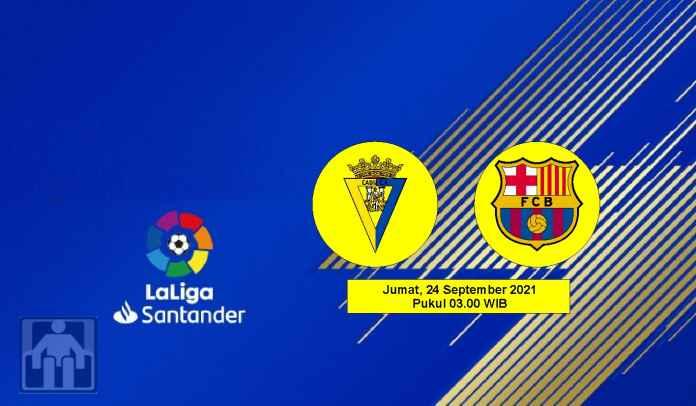 Prediksi Cadiz vs Barcelona, Pekan Keenam Liga Spanyol Jumat 24 September 2021