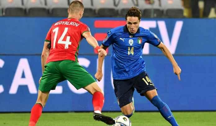 Cetak Gol, Federico Chiesa Tetap Kecewa Karena Italia Gagal Menang vs Bulgaria
