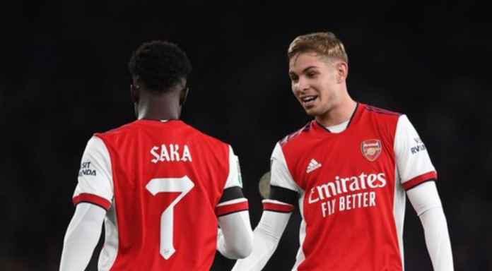 Dua pemain jebolan Hale End atau Akademi Arsenal masing-masing cetak 1 gol dan 1 assist melawan Tottenham Hotspur