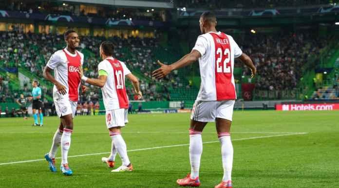 Hasil Sporting vs Ajax: Mantan West Ham Ini Debut di Liga Champions, Langsung 4 Gol Tadi Malam!