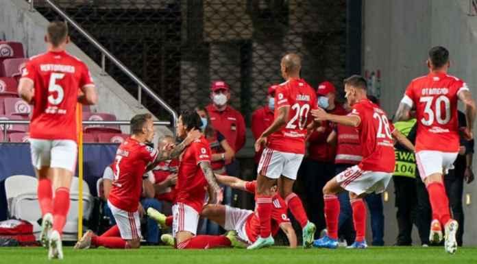 Hasil Benfica vs Barcelona di Liga Champions 2021-2022