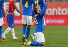 Hasil Chile vs Brasil di Kualifikasi Piala Dunia 2022 SKor Akhir 0-1 Everton Ribeiro Cetak Gol