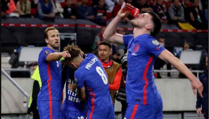 Hasil Hungaria vs Inggris: Sterling, Kane, Maguire, Rice Berbagi Gol, Tiga Singa Poin Sempurna Dari 4 Laga