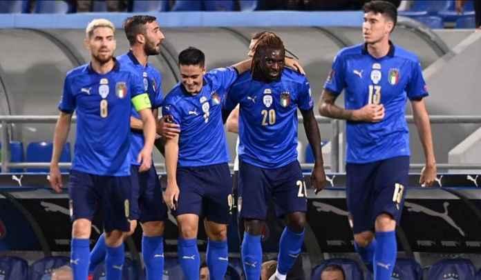 Bantai Lithuania 5-0, Italia Catat Rekor Empat Gol Hanya Dalam 30 Menit Pertama