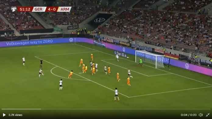 Hasil Jerman vs Armenia: Tim Tamu Tak Terkalahkan, Tapi Tank Jerman Tak Peduli, Gilas 6 Gol!